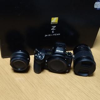 Nikon - 【美品】Nikon Z 6 24-70+FTZ マウントアダプターキット