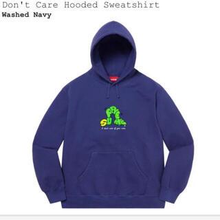Supreme - シュプリーム パーカー Don't Care Hooded Sweatshirt