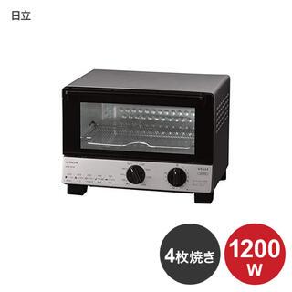 ヒタチ(日立)の【新品美品】日立製オーブントースター HTO-CF55(調理機器)
