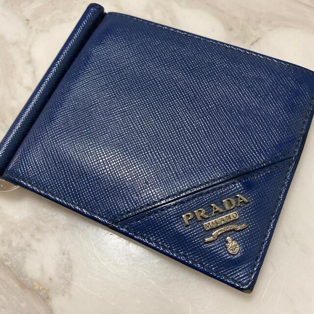 PRADA(プラダ)のプラダ 財布 メンズのファッション小物(折り財布)の商品写真