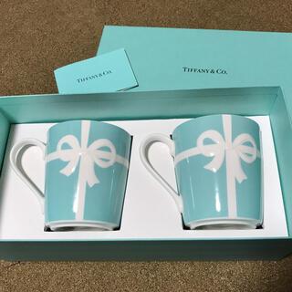 Tiffany & Co. - ティファニー ブルーリボン マグカップペア