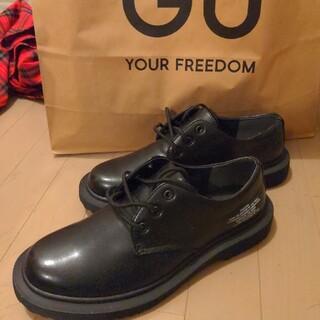ジーユー(GU)の新品未使用 GU×UNDERCOVER ラウンドトゥシューズ ブラック 28cm(ドレス/ビジネス)