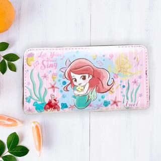 ディズニー(Disney)の【Disney】ディズニー アリエルとラプンツェルのかわいい長財布 キッズ(財布)