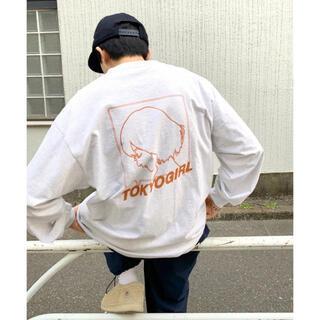 フーズフーギャラリー(WHO'S WHO gallery)の新品 フーズフーギャラリー wwg東京ガール ベーシックラインロゴロンT(Tシャツ(長袖/七分))