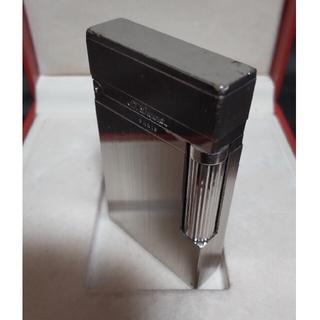 エステーデュポン(S.T. Dupont)の美音◎デュポン ライター Dupont ライン2 ヘアライン パラディウム   (タバコグッズ)