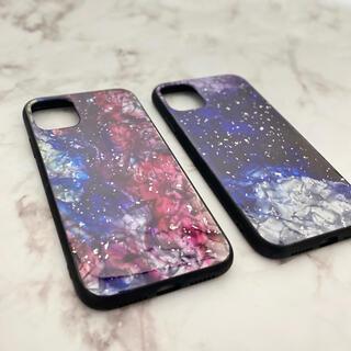 【ベリー】iPhone11/XR ケース スターライト柄(iPhoneケース)
