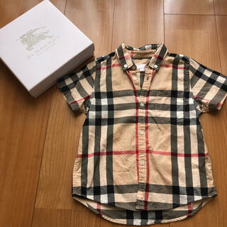 BURBERRY - 半袖シャツ4Y104