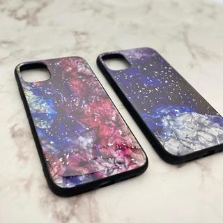 【ナイト】iPhone11/XR スターナイト柄 iPhoneケース(iPhoneケース)