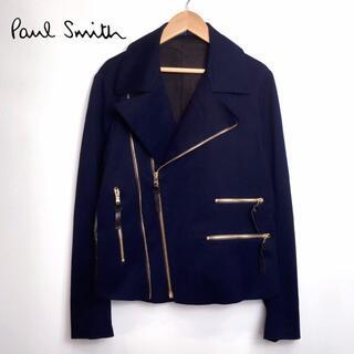 Paul Smith - 極美品 ポールスミス メインライン ダブル ライダース ジャケット ドット柄