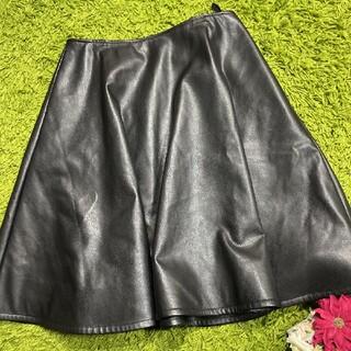 FOXEY - 美品フォクシー レディレザースカート a1566