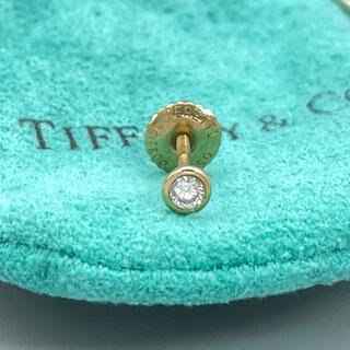 Tiffany & Co. - 美品 ティファニー バイザヤード 1p ダイヤ ゴールド ピアス 片耳 TX19