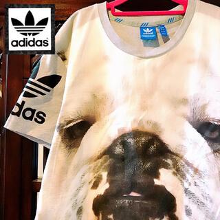 adidas - アディダス 激レア ブルドッグ Tシャツ 犬 ドッグ ジャージ リタオラ パグ
