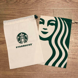 Starbucks Coffee - 海外限定 スターバックス 巾着 タンブラーケース バッグ
