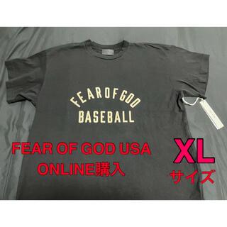 FEAR OF GOD - 新品未使用 FEAR OF GOD BASEBALL Tシャツ XL