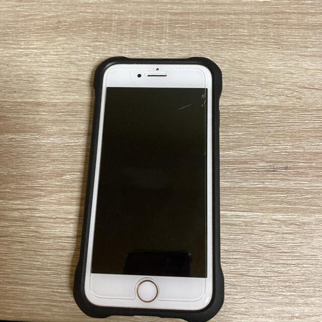 Apple(アップル)の iPhone8 64GB  gold ケース付き SIMフリー スマホ/家電/カメラのスマートフォン/携帯電話(スマートフォン本体)の商品写真