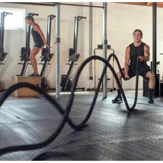 バトルロープ  トレーニングロープ 筋トレ 格闘技 クロスフィット EMS