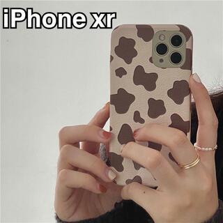 iPhone - iPhone xr ケース 牛柄 うし ニュアンス ホルスタイン スマホケース