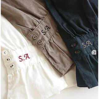SM2 - sm2 35th SA刺繍パンツ⭐️モカ