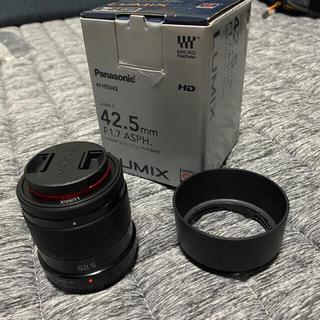 Panasonic - LUMIX G 42.5mm F1.7 マイクロフォーサーズ