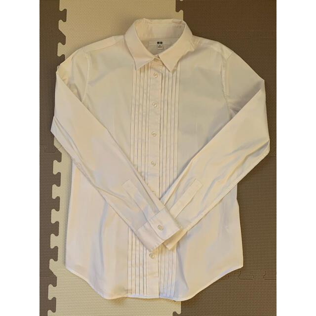 UNIQLO(ユニクロ)のUNIQLO レディースシャツ Mサイズ レディースのトップス(シャツ/ブラウス(長袖/七分))の商品写真