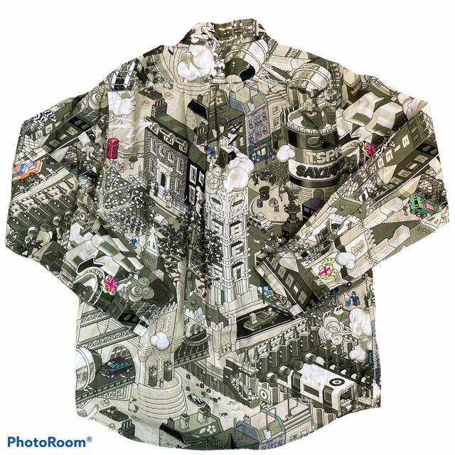 Paul Smith(ポールスミス)の【激レア】ポールスミス LEGO レゴ 総柄 アースカラー シャツ 長袖 メンズのトップス(シャツ)の商品写真