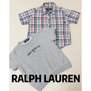 POLO RALPH LAUREN - ラルフローレン POLO 半袖 トップス シャツ 2点セット 90