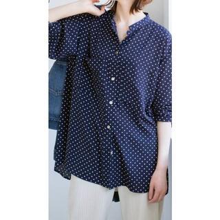 IENA - 新品イエナ★ドットポケットシャツ