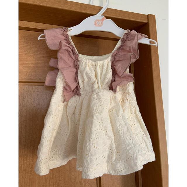 petit main(プティマイン)のプティマイン  トップス 90 キッズ/ベビー/マタニティのキッズ服女の子用(90cm~)(Tシャツ/カットソー)の商品写真