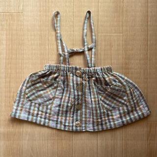 ザラキッズ(ZARA KIDS)のZARA ジャンパースカート 80㎝(スカート)