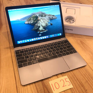 Mac (Apple) - 上位モデル! MacBook retina 12インチ 2017 付属品完備!