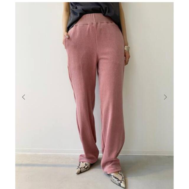 L'Appartement DEUXIEME CLASSE(アパルトモンドゥーズィエムクラス)のL'Appartement アメリカーナpil Relax PANTS  レディースのパンツ(カジュアルパンツ)の商品写真