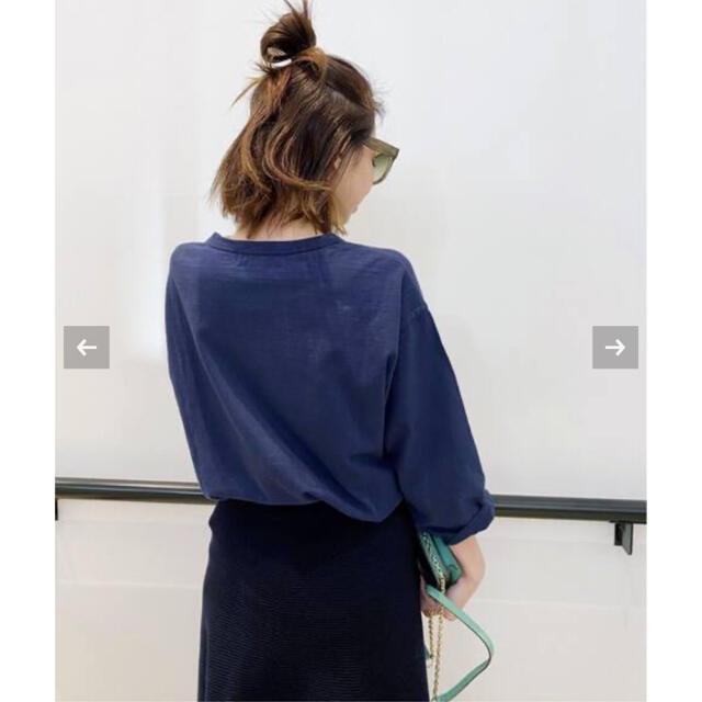 L'Appartement DEUXIEME CLASSE(アパルトモンドゥーズィエムクラス)のアパルトモン【AMERICANA/アメリカーナ】AC Long T-sh  レディースのトップス(Tシャツ(長袖/七分))の商品写真