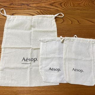 Aesop - Aesop イソップ  巾着 大 小 セット バッグ ショップバッグ