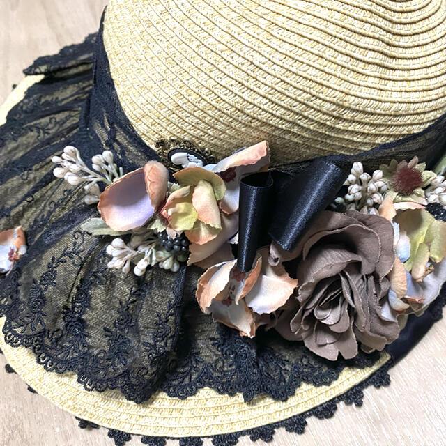 Innocent World(イノセントワールド)のAnges et Demons 麦わら ボンネット レディースの帽子(ハット)の商品写真