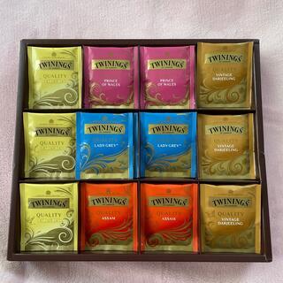 TWININGS 紅茶セット 60袋(茶)