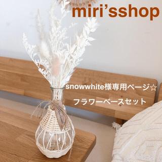 パンパスグラス snowwhite様専用ページ(ドライフラワー)