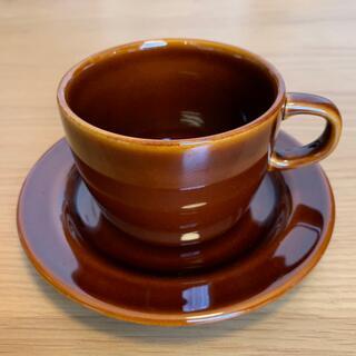 無印 cafe muji 磁器 コーヒーカップ 飴釉 ムジカフェ カップ