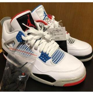 NIKE AIR JORDAN 4 RETRO SE WHAT THE 28.5(スニーカー)