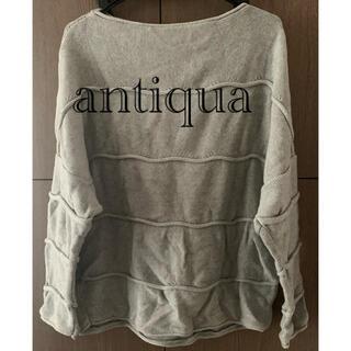 antiqua - アンティカ綿ニット