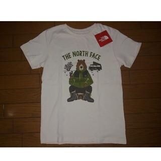 THE NORTH FACE - 新品・未着用☆ノースフェイス☆キッズ150 Tシャツ ビンテージホワイト