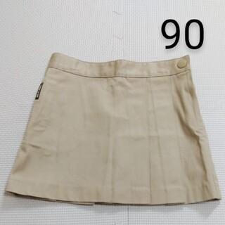 コムサイズム(COMME CA ISM)のコムサイズム スカート 90 カーキ(スカート)