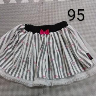 バービー(Barbie)のバービー チュール付きスカート 95㎝(スカート)