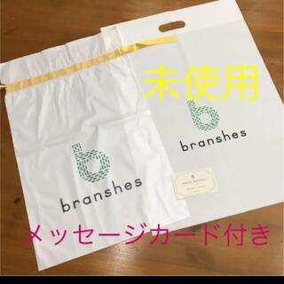 ブランシェス(Branshes)の未使用ブランシェスショップ袋と、ラッピング袋(ショップ袋)