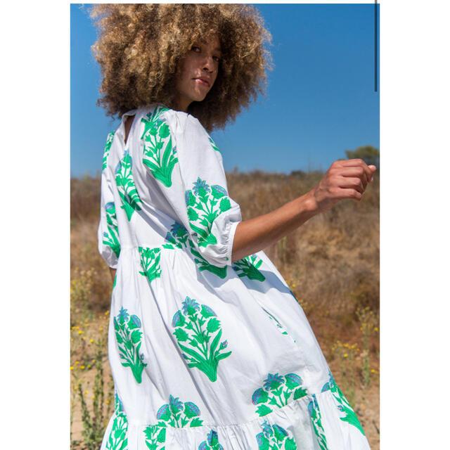 Ron Herman(ロンハーマン)のThor様 完売SZ blockprints Gaia Dress ロンハーマン レディースのワンピース(ロングワンピース/マキシワンピース)の商品写真