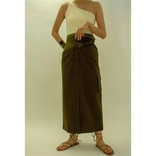 beautiful people - リトルスージー  Cross Belt Skirt スカート