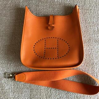 エルメス(Hermes)のエルメスエブリンpm 、オレンジ(ショルダーバッグ)