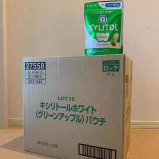 キシリトールホワイト グリーンアップル 48個(菓子/デザート)