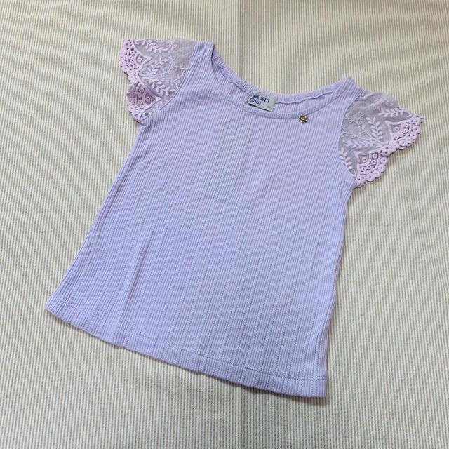 ANNA SUI mini(アナスイミニ)の新品 アナスイミニ トップス 100 キッズ/ベビー/マタニティのキッズ服女の子用(90cm~)(Tシャツ/カットソー)の商品写真
