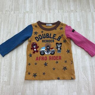 DOUBLE.B - ダブルB 長袖 Tシャツ 80cm