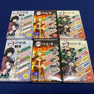 集英社 - 鬼滅の刃 絆創膏 6箱 新品未開封 バンドエイド 煉獄杏寿郎